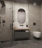 Серая плитка с фактурой бетона RHS Rondine Murales, размер 120х60