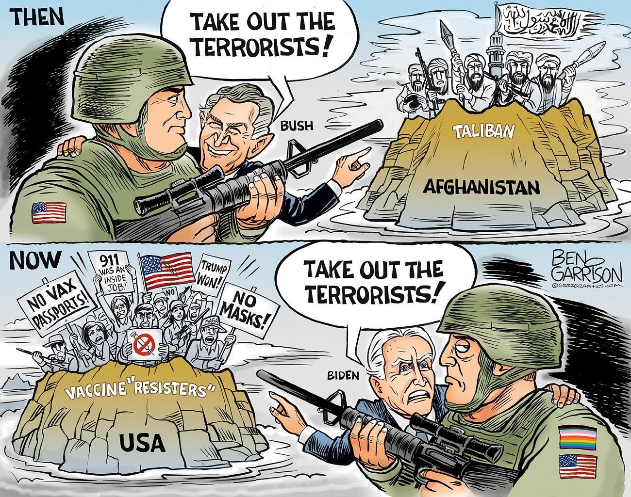 Aftermath of an Afghanistan Debacle