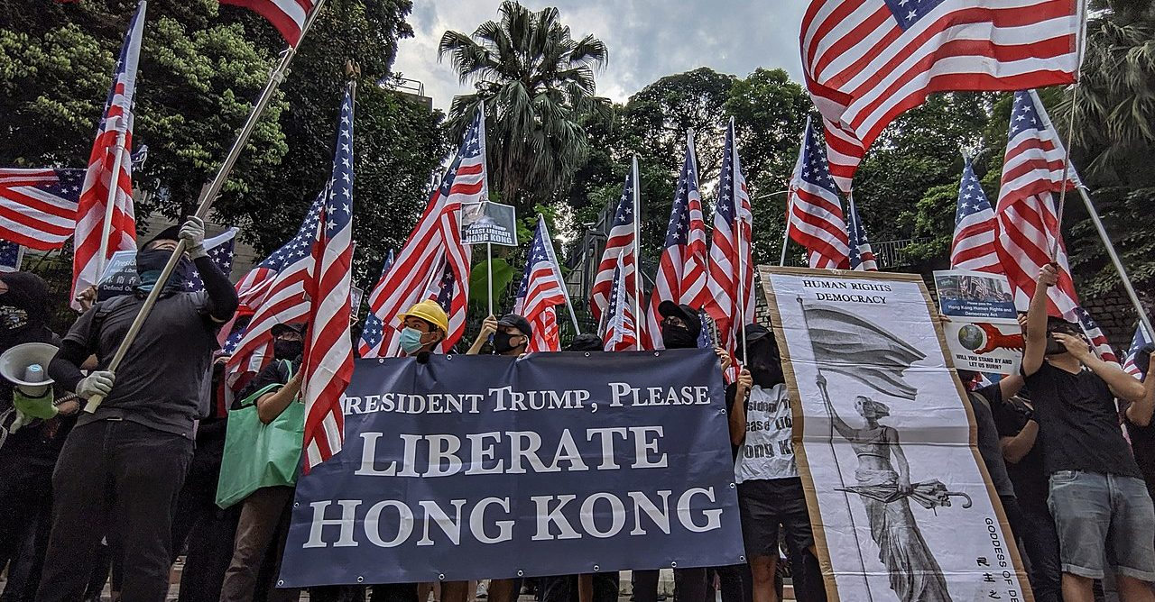 In Hong Kong, It's US vs. China Now