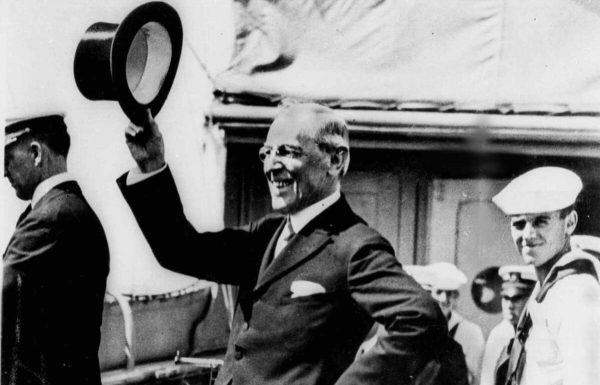 Now It's Woodrow Wilson's Turn