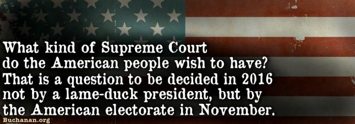 Leave the Scalia Chair Vacant