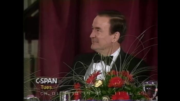 Pat Buchanan Roast 1991 CSPAN