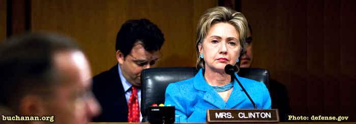 Pat Buchanan: Hillary Would Beat Romney in 2016