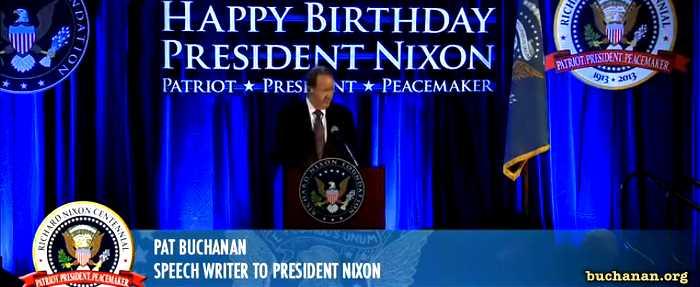 Pat Buchanan's speech at Nixon Celebration