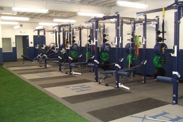 Heathwood Hall Episcopal School Weight Room