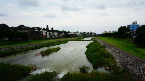 Une des deux rivières qui traversent Kanazawa