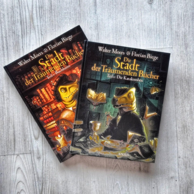 Die Stadt der träumenden Bücher (Comic, Band 2) – Walter Moers + Florian Biege