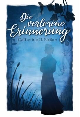 Das blaue Cover zeigt die Silhouette einer Frau, derum Pflanzen und Nebel
