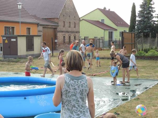 2018 Kinderfest Wasserstrecke