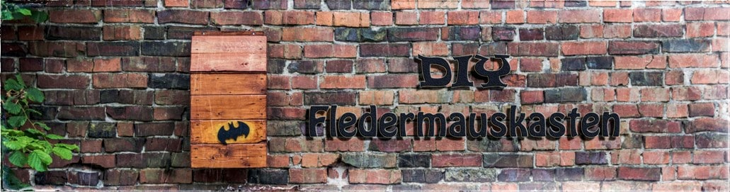 DIY - Fledermauskasten