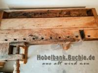 neu aufgearbeitete Hobelbank