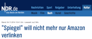 Lesezeit Screenshot NDR