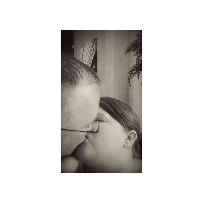 October 11 :: p365 :: year 34 day 348 :: K is for...kiss. 15 years with this guy and he still gives me butterflies.