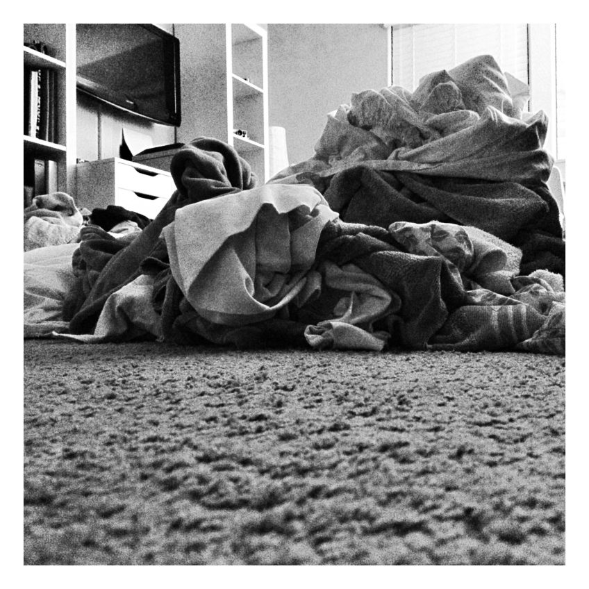 October 13 :: p365 :: year 34 day 350 :: M is for...mounds of laundry waiting to be folded. This isn't count the 1 load in the dryer, the 2 loads waiting to be washed and the 4 loads that were already hung up. I guess you know what I have been doing and will be doing again tomorrow. :-/