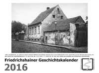 Friedrichshainer Geschichtskalender 2016