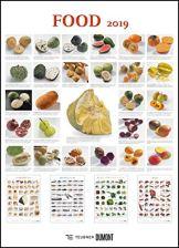 FOOD 2019 – Lebensmittel-Warenkunde – Küchen-Kalender von DUMONT– Poster-Format 49,5 x 68,5 cm - 1