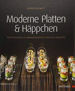 Moderne Platten & Häppchen: Professionelle Arrangements für alle Anlässe - 1