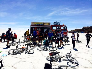 Lunch on the Salar