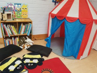 Our sensory tent