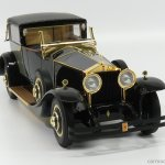 Cmf Model Cmf18125 Scale 1 18 Rolls Royce Phantom I Riviera Town Brougham Semi Convertible By Brewster 1929 Black Gold