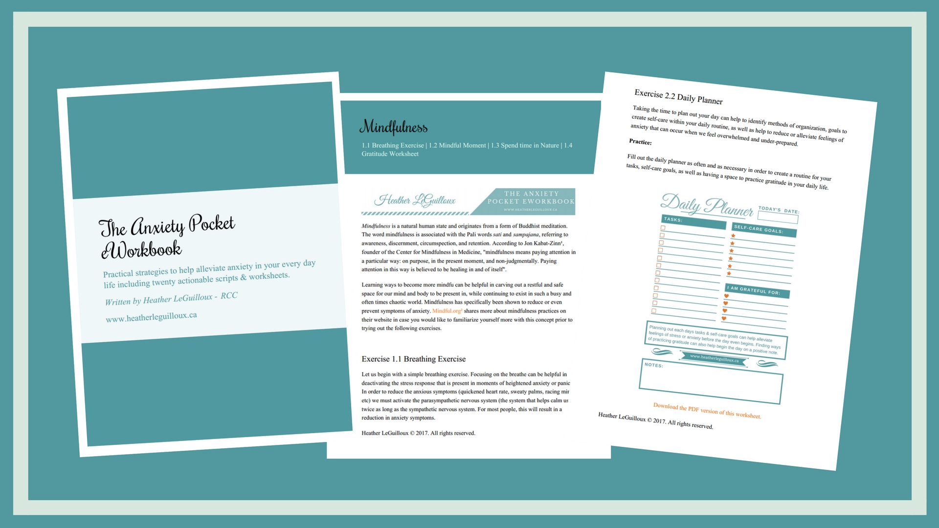 The Anxiety Pocket Eworkbook