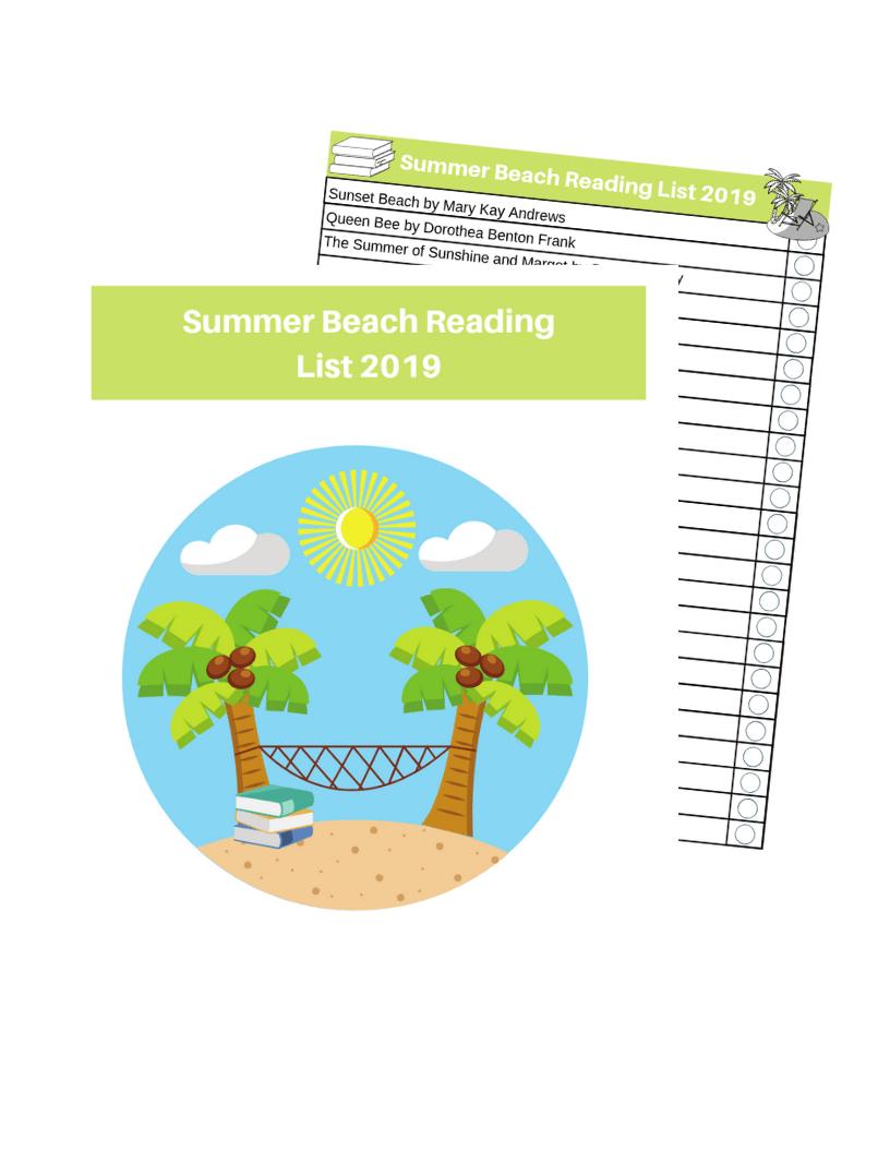 Summer reading checklist