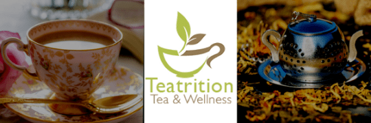 gifting teas, teatrition tea and wellness logo, link to teatrition review post