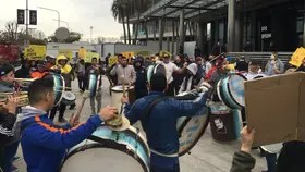 Seguidores de Mauricio Macri en un acto en Vicente López