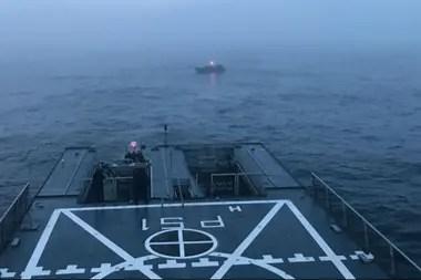 La Armada y Prefectura Naval hicieron los operativos