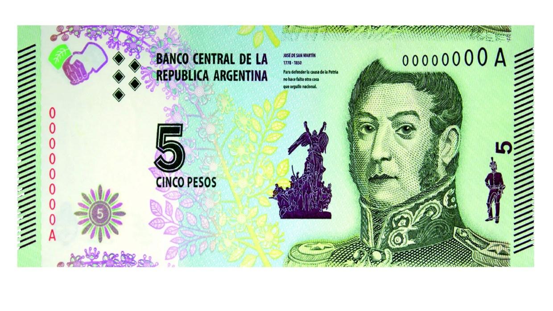 Resultado de imagen para 5 pesos argentinos