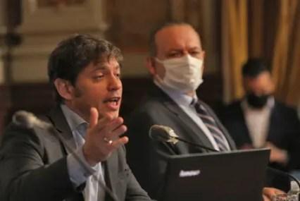 Kicillof desautorizó a Berni al contradecir sus dichos
