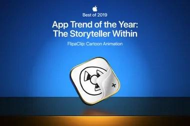 FlipaClip fue una de las aplicaciones destacadas por Apple en 2019 por facilitar la creación de contenidos