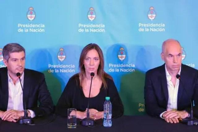Vidal y Larreta alertan sobre el ajuste y piden más diálogo político