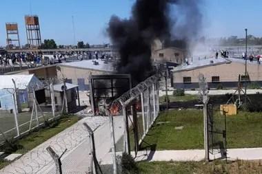 Una de las protestas en las cárceles bonaerenses