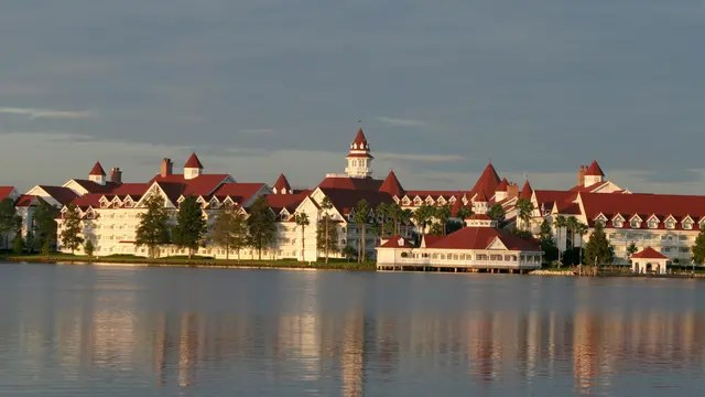 El hecho ocurrió en la laguna frente al hotel Grand Floridian Resort and Spa