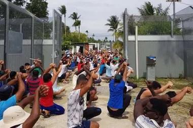 Muchas de las familias en Nauru han vivido en detención durante gran parte de sus vidas