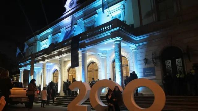 Tucumán: concierto federal y latinoamericano en la Estación Gral Mitre. Foto: DyN