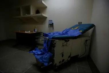 La sala de maternidad del hospital Felipe Guevara Rojas, en El Tigre, norte de Venezuela