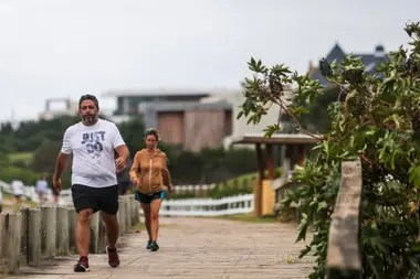 La senda que une La Barra con Manantiales es una de las que más corredores recibe esta temporada