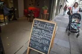 En el bar Bitcoffee se puede pagar con bitcoins