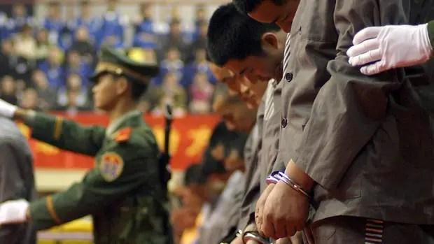 En China el narcotráfico es considerado un grave delito