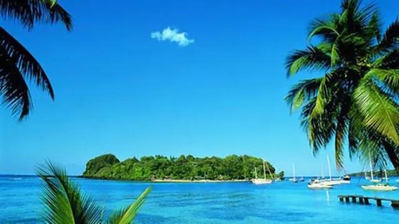 El paisaje en San Vicente y Granadinas