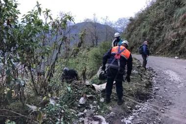 El cuerpo de Espinoza fue encontrado una semana más tarde en el fondo de un acantilado en Catamarca