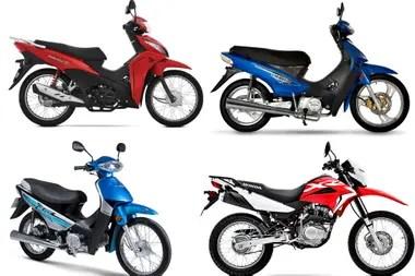 Las motos de baja cilindrada son los modelos más vendidos del país