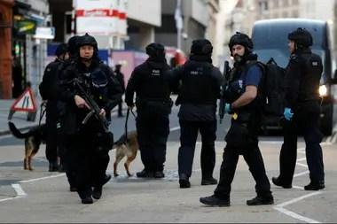 La policía custodia la zona del incidente