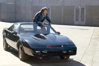 KITT, el auto que se convirtió en todo un símbolo de los 80