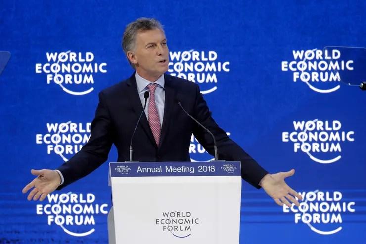 """Macri habló de la economía, de la """"inserción"""" de la Argentina en el mundo y del """"papel significativo"""" que podría """"cumplir"""" el país """"a nivel mundial"""""""