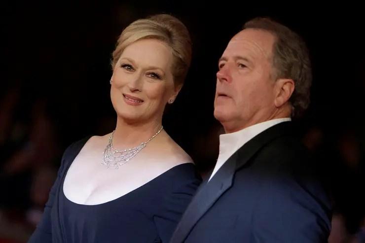 Meryl Streep y su actual marido, Don Gummer