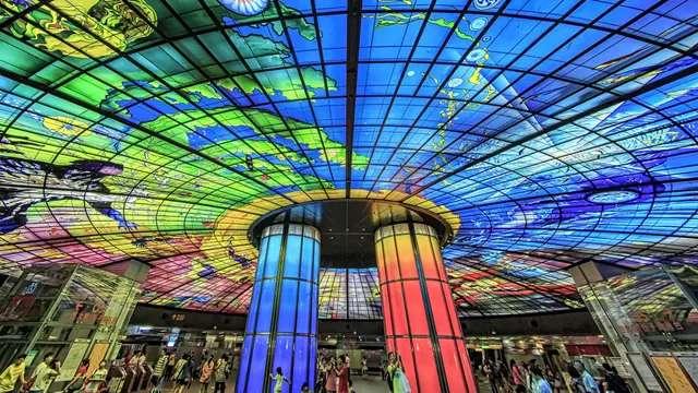 La estación más imponente de Taiwan