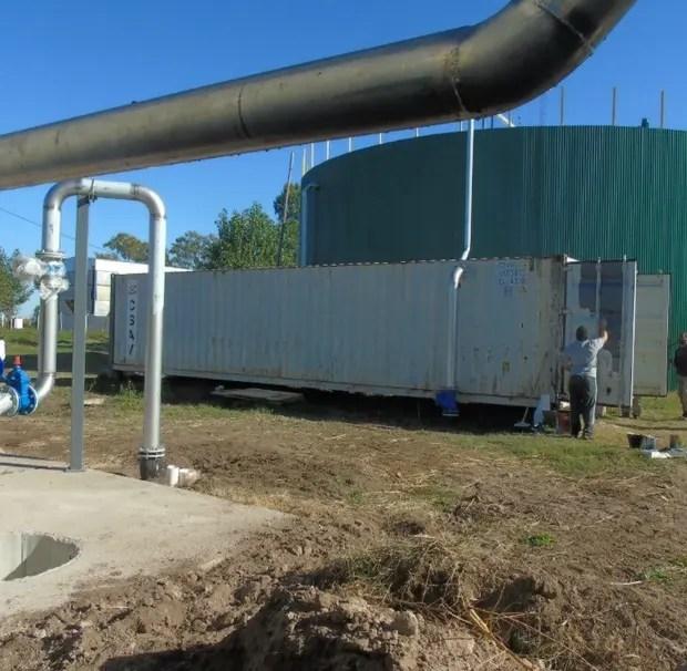 La Central Térmica Biogás Huinca Renancó